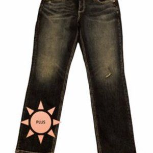 Silver Jeans Straight Leg Curvy Jeans size 16 NWT